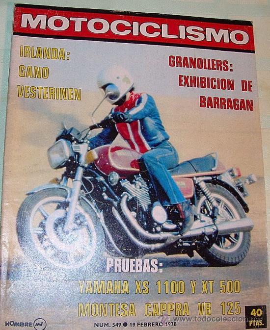 MOTOCICLISMO 549 DE 1978 (Coches y Motocicletas - Revistas de Motos y Motocicletas)