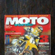 Coches y Motocicletas: REVISTA MOTO VERDE. NÚMERO 223 FEBRERO 1997. Lote 27245692
