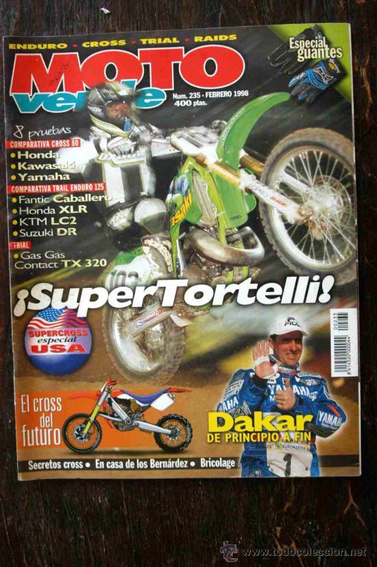 REVISTA MOTO VERDE. NÚMERO 235 FEBRERO 1998 (Coches y Motocicletas - Revistas de Motos y Motocicletas)