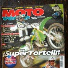 Coches y Motocicletas: REVISTA MOTO VERDE. NÚMERO 235 FEBRERO 1998. Lote 27245724