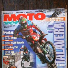 Coches y Motocicletas: REVISTA MOTO VERDE. NÚMERO 249 ABRIL 1999. Lote 27245737