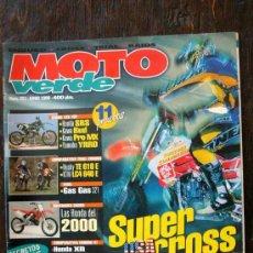 Coches y Motocicletas: REVISTA MOTO VERDE. NÚMERO 251 JUNIO 1999. Lote 27278215