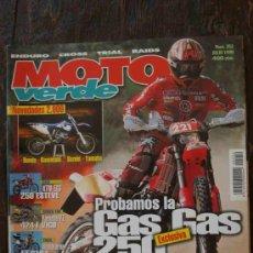 Coches y Motocicletas: REVISTA MOTO VERDE. NÚMERO 252 JULIO 1999. Lote 34011507