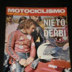 Coches y Motocicletas: MOTOCICLISMO - SEGUNDA QUINCENA FEBRERO 1974 - DUCATI 750 SPORT / NIETO DERBI. Lote 25928365