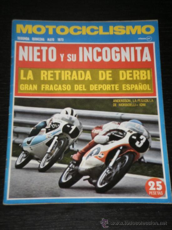 MOTOCICLISMO - SEGUNDA QUINCENA MAYO 1973 (Coches y Motocicletas - Revistas de Motos y Motocicletas)