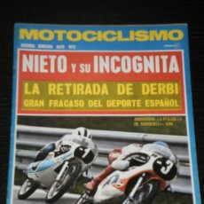 Coches y Motocicletas: MOTOCICLISMO - SEGUNDA QUINCENA MAYO 1973 . Lote 25928492