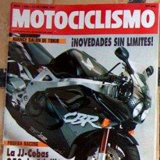 Coches y Motocicletas: MOTOCICLISMO Nº 1234 OCT 1991:SALON DE TOKIO, JJ COBAS 250 CRIVILLE, SITO PONS. Lote 26022799