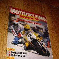 Coches y Motocicletas: MOTOCICLISMO LOTE DE 12 REVISTAS AÑO 1984....................................SAN JUAN. Lote 26074771