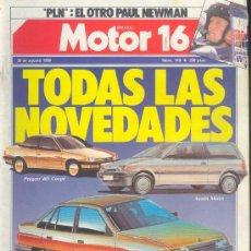 Coches y Motocicletas: MOTOR 16 Nº 149 AGO 1986: JAGUAR XJS, PEUGEOT 405 COUPE, AUSTIN METRO, OPEL ASCONA, MOTOR16. Lote 26603037