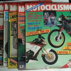 Coches y Motocicletas: MOTOCICLISMO 5 REVISTAS DE 1985. Lote 27931864