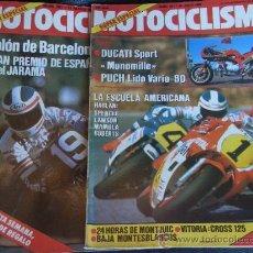 Coches y Motocicletas: MOTOCICLISMO 2 REVISTAS SUPER ESPECIAL AÑO 1985. Lote 27944147