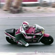 Coches y Motocicletas: FOTOGRAFIA ORIGINAL. MOTO Nº3. FEDDIE. HONDA. MOTOCICLISMO.24 X 18 CM.. Lote 28048687