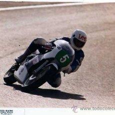 Coches y Motocicletas: FOTOGRAFIA ORIGINAL. MOTO Nº5. DANI. LEE. MOTOCICLISMO.20 X 25 CM.. Lote 28048806
