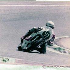 Coches y Motocicletas: FOTOGRAFIA ORIGINAL. MOTO .Nº41. NOLAN. . MOTOCICLISMO.20 X 25 CM. J. PEDROSA.. Lote 28048928