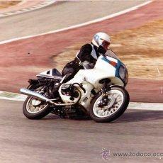 Coches y Motocicletas: FOTOGRAFIA ORIGINAL. MOTO .B. M. DIAZ. MOTOCICLISMO.20 X 25 CM. .. Lote 28048992