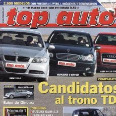 Coches y Motocicletas: REVISTA COCHE ACTUAL Nº 185 AÑO 2005. PRUEBA: JAGUAR CJ8 L 4.2 EXECUTIVE. CHRYSLER G. VOYAGER 2.8 CR. Lote 28237999