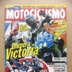 Coches y Motocicletas: MOTOCICLISMO Nº 1741 HONDA CBR 900 RR '02 TRIUMPH DAYTONA 955I CAGIVA RAPTOR 650. Lote 28242473