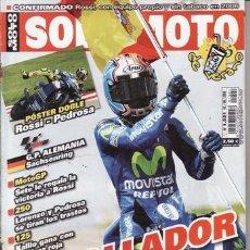 Coches y Motocicletas: REVISTA SOLO MOTO ACTUAL Nº 1521 AÑO 2005. COMPARATIVA: SUZUKI BANDIT 650 N, HONDA CBF 600 N, TRIUMP. Lote 28506981
