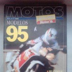 Coches y Motocicletas: MOTOR ESPECIAL 16 MOTOS 1995. Lote 28888353