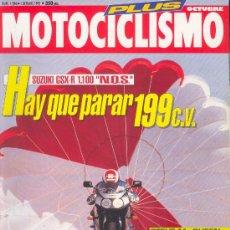 Coches y Motocicletas: MOTOCICLISMO 1284 OCT 1992, SUZUKI GSX-R 1100 NOS, BRITTEN V2 1100, STEVE MC QUEEN. Lote 29005471