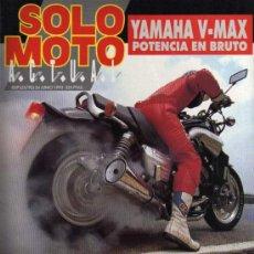 Coches y Motocicletas: REVISTA SOLO MOTO ACTUAL - Nº 839 - 24 JUNIO 1992. Lote 29182724
