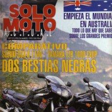 Coches y Motocicletas: REVISTA SOLO MOTO ACTUAL - Nº 877 - 24 MARZO 1993. Lote 29182782