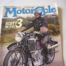 Coches y Motocicletas: THE CLASSIC MOTORCYCLE. Lote 29184584