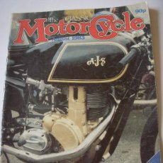 Coches y Motocicletas: THE CLASSIC MOTORCYCLE. Lote 29184602