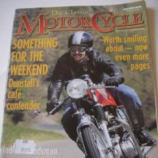 Coches y Motocicletas: THE CLASSIC MOTORCYCLE. Lote 29184658