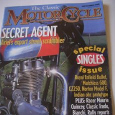 Coches y Motocicletas: THE CLASSIC MOTORCYCLE. Lote 29184693