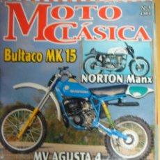 Coches y Motocicletas: REVISTA MOTO CLASICA NUMERO 3 2002.OSSA.MONTESA... Lote 121734842