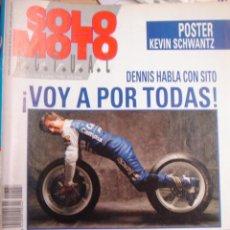 Coches y Motocicletas: REVISTA SOLO MOTO ACTUAL MOTOCICLISMO NUMERO 734 6 JUNIO 1990. Lote 29959103