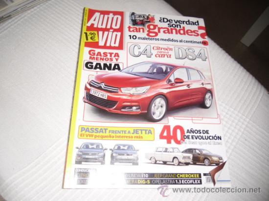 AUTO VIA 256 (Coches y Motocicletas - Revistas de Motos y Motocicletas)
