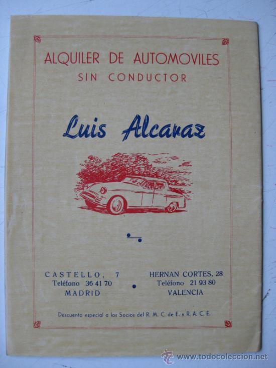 Coches y Motocicletas: REAL MOTO CLUB DE ESPAÑA, BOLETIN INFORMATIVO - AÑO 1959 - Nº 107 - Foto 8 - 30736237