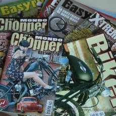Coches y Motocicletas: 10 REVISTAS MOTOS CUSTOM. Lote 30978421