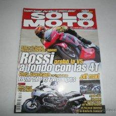Coches y Motocicletas: SOLO MOTO NUM 1314 MOTO GUZZI V11 LE MANS-YAMAHA YZR 500-SUZUKI RE-5-NORTON F1 VAN VEEN OCR 1000. Lote 31115812