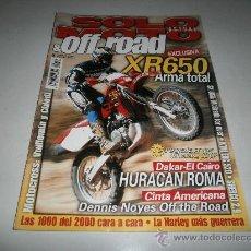 Coches y Motocicletas: SOLO MOTO & OFF ROAD- DUCATI MONSTER 900S- HARLEY DAVIDSON FXSTD-BULTACO SHERCO 2.9-HONDA 650 XR. Lote 31275188