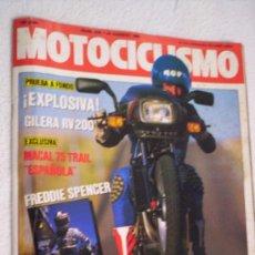 Coches y Motocicletas: REVISTA MOTOCICLISMO Nº 916 AÑO 1985. Lote 31564578