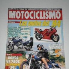 Coches y Motocicletas: MOTOCICLISMO Nº 1325 - NOVEDADES / HONDA VF 750 C / YAMAHA TOP JOG 90 / MONTESA TRIAL. Lote 31567709