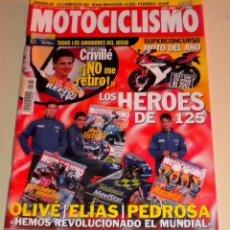Coches y Motocicletas: .MOTOCICLISMO Nº 1760 2001. PRUEBA YAMAHA BT 1100 BULLDOG PRUEBA: HONDA VTX 1800. Lote 31683182
