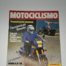 Coches y Motocicletas: MOTOCICLISMO Nº 1034 - MONTESA COTA 307 / DERBI GP / PARIS DAKAR / NOVEDADES YAMAHA 88. Lote 31822247