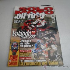Coches y Motocicletas: SOLO MOTO HONDA VTR 1000 SP-1 YAMAHA SLIDER 50 SCORPA 2000 SY TRIAL HONDA Y HUSQVARNA 400. Lote 31903388