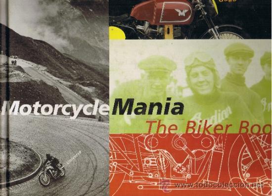 MOTORCYCLE MANIA - THE BIKER BOOK - MATTHEW DRUTT - GUGGENHEIM MUSEUM - INGLES (Coches y Motocicletas - Revistas de Motos y Motocicletas)