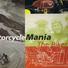 Coches y Motocicletas: MOTORCYCLE MANIA - THE BIKER BOOK - MATTHEW DRUTT - GUGGENHEIM MUSEUM - INGLES. Lote 32349877