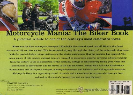 Coches y Motocicletas: MOTORCYCLE MANIA - THE BIKER BOOK - MATTHEW DRUTT - GUGGENHEIM MUSEUM - INGLES - Foto 2 - 32349877