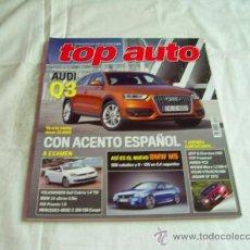 Coches y Motocicletas: TOP AUTO Nº 262: AUDI Q3, KIA PICANTO, HONDA FCX, FIAT FREEMONT, JAGUAR XF 2012, CR. Lote 32378430
