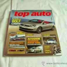 Coches y Motocicletas: TOP AUTO Nº GOLF CABRIO, PORSCHE CARRERA GTS, BMW 650 COABRIO, JAGUAR XKR CONVERTIBLE, CR. Lote 32378556