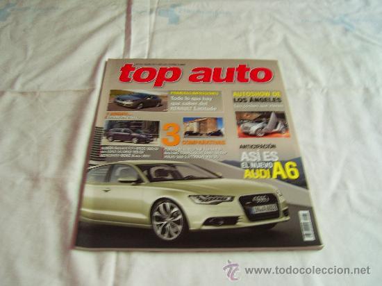 TOP AUTO Nº 255: CHEVROLET ORLANDO, AUDI A6, HONDA CCORD, MAZDA 3, MERCEDES-BENZ VIANO, CR (Coches y Motocicletas - Revistas de Motos y Motocicletas)