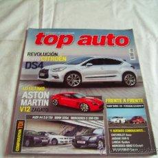 Coches y Motocicletas: TOP AUTO Nº 261: CITROËN DS4, ASTON MARTIN V12 ZAGATO, AUDI A4, BMW 320, MERCEDES C 200, CR. Lote 32380736