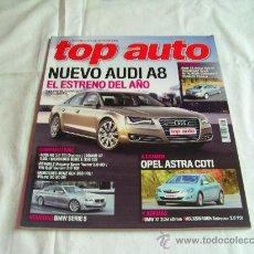 Coches y Motocicletas: TOP AUTO Nº 243: AUDI A8, OPEL ASTRA CDTI, BMW SERIE 5, VOLKSWAGEN SCIROCCO, AUDI A6, VOLVO XC 60, C. Lote 32380769